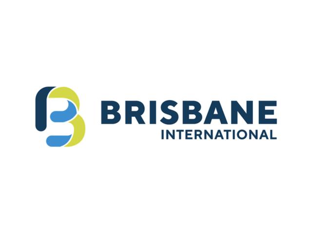 「ブリスベン国際」ロゴ