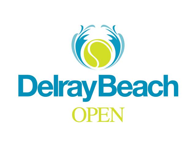 「デルレイビーチオープン」ロゴ
