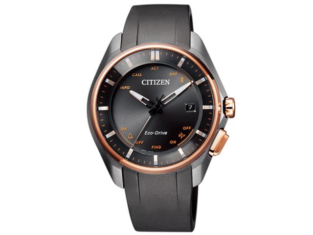 大坂なおみ選手が試合で着用しているシチズン(CITIZEN)の時計「エコ・ドライブ Bluetooth」オレンジ色