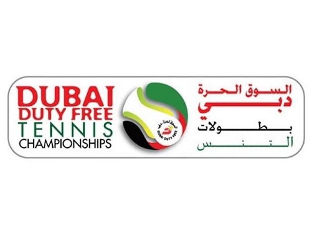 「ドバイテニス選手権2021」ロゴ