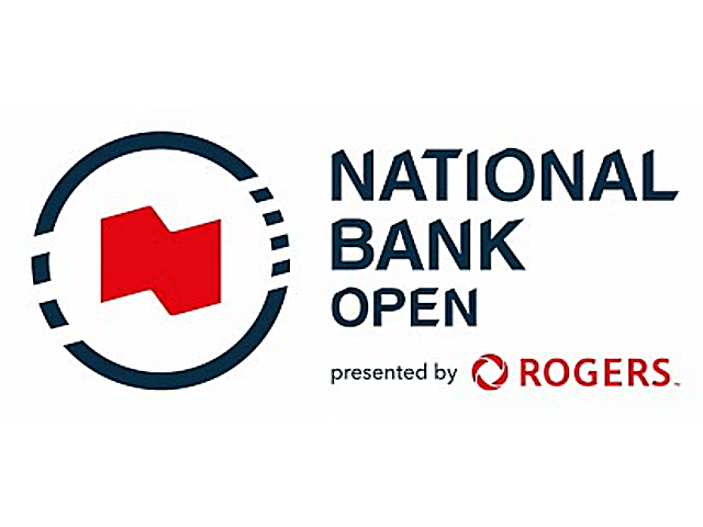 「ナショナルバンクオープン」ロゴ